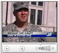 Spc. Cory Sublett